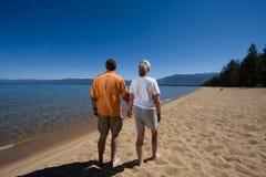 Paare auf Strand