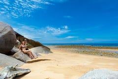 Paare auf Tioman-Insel Malaysia Lizenzfreie Stockfotos