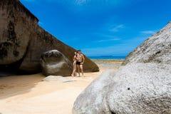 Paare auf Tioman-Insel Malaysia Stockbilder