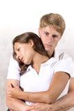 Paare in den Gedanken Stockfotos