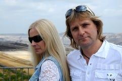 Paare in der $überschneidung Stockfotografie