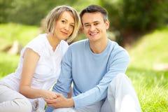 Paare an der Freizeit Stockbilder