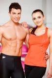 Paare an der Gymnastik Lizenzfreies Stockbild