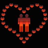 Paare der Homosexueller Lizenzfreie Stockbilder