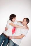 Paare der jungen Leute Lizenzfreies Stockbild