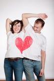 Paare der jungen Leute Lizenzfreies Stockfoto