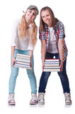 Paare der jungen Studenten Lizenzfreies Stockfoto