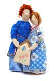Paare der Landarbeiter im traditionellen Kleid Lizenzfreies Stockfoto