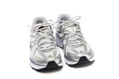 Paare der laufenden Schuhe stockfotos