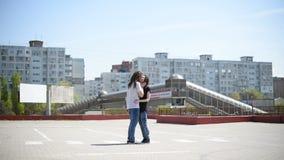 Paare in der Liebe stock video