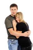 Paare in der Liebe-- Stockbilder
