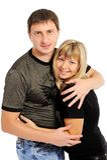 Paare in der Liebe-- Stockfotos
