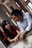 Paare in der Liebe Stockfotografie