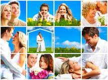 Paare in der Liebe. Stockfotos