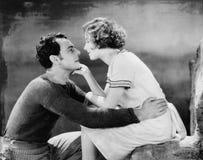 Paare in der Liebe (alle dargestellten Personen sind nicht längeres lebendes und kein Zustand existiert Lieferantengarantien, das Stockfoto