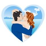 Paare der Liebhaber Stockbilder