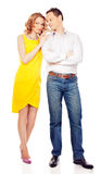 Paare der Liebhaber Stockfoto