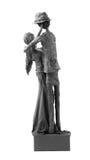 Paare der Liebhaber-Statue Stockfotografie