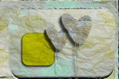 Paare der Papierinnerer Stockfoto