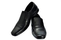 Paare der schwarzen Schuhe des Mannes Lizenzfreie Stockbilder