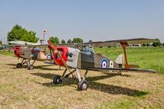 Paare des Langeweile-Kampfflugzeugs Lizenzfreie Stockfotos