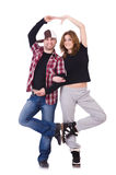 Paare des Tänzertanzens Lizenzfreie Stockfotografie
