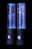 Paare des Wassertanzen-Lichtsprechers Lizenzfreies Stockfoto