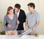 Paare, die Rat von erhalten Lizenzfreies Stockfoto