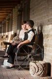 Paare, die sich bewundern Lizenzfreie Stockbilder