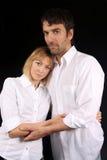 Paare, die sich trösten Lizenzfreie Stockbilder