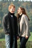 Paare, die Spaß haben stockfotos
