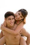 Paare, die Spaß haben Stockfoto