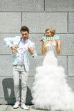Paare, die Spaß haben Stockbilder