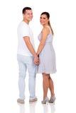 Paare, die zurück schauen Lizenzfreies Stockbild