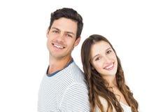 Paare, die zurück zu Rückseite stehen Lizenzfreie Stockfotografie