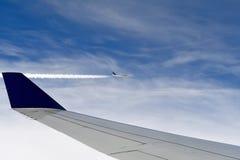 Paare Fliegenjets Stockbilder