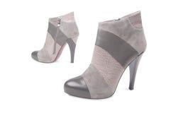 Paare Hochfersen Schuhe Stockbild