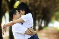 Paare im Freien Lizenzfreie Stockfotografie