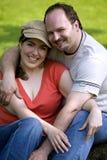 Paare im Park Stockfoto