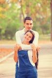 Paare im Park Lizenzfreies Stockbild