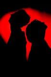 Paare inlove Lizenzfreie Stockfotografie