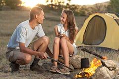 Paare am Lager Lizenzfreie Stockbilder