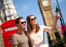 Paare in London Stockfoto