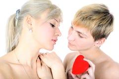 Paare mit Innerem Lizenzfreies Stockbild