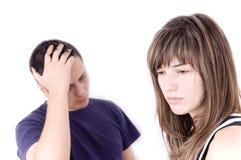 Paare mit Problemen Lizenzfreie Stockbilder