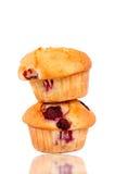 Paare Muffins stockbilder