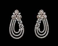 Paare Ohrringe Stockbild