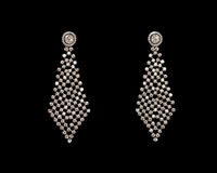 Paare Ohrringe Stockfoto
