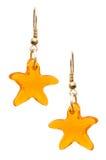 Paare Ohrringe getrennt Lizenzfreies Stockbild