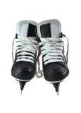 Paare Rochen für Spiel im Hockey Stockfotografie